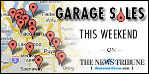 Garage Sale Locator Map